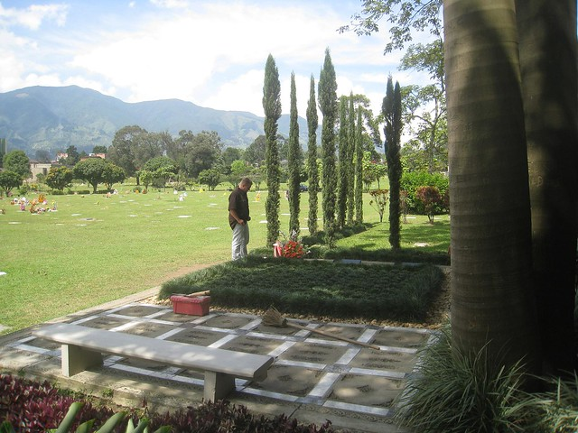 The Escobar family grave