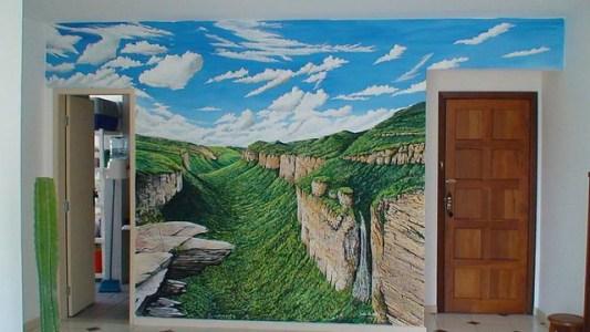 Painel do Vale do Cachoeirão.
