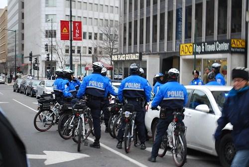 Biking Police