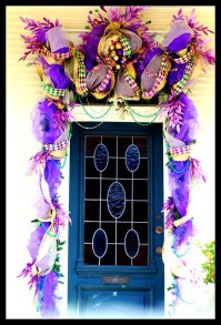 New Orleans - Mardi Gras Door Decoration | Flickr - Photo ...