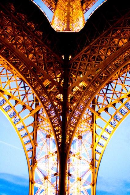 Eiffel view por Gunnar Geir Petursoon