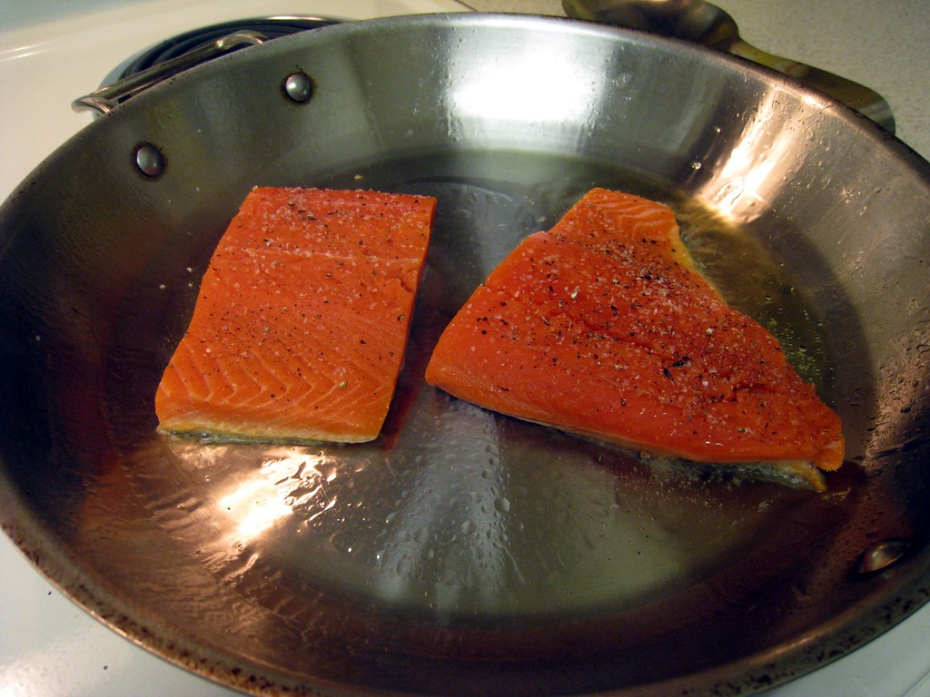 In Kat39s Kitchen About Pan Roasted Salmon Fillets