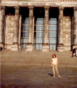Bundestag, West-Berlin, 1983