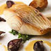sablefish in curry butter with sunchoke purée and roasted pearl onions