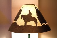 Cowboy Lamp-Shade - Hilton San Antonio Airport | Flickr ...