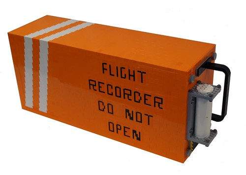 LEGO Black Box Flight Recorder