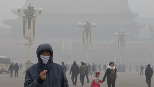 Smog en China: Niebla Contaminante en China