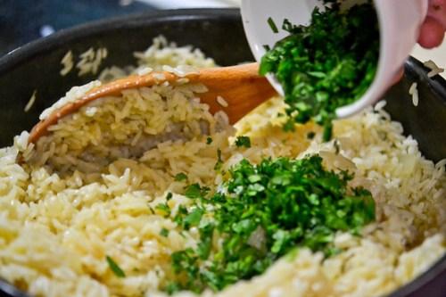 Cilantro Garlic Lime Rice-4