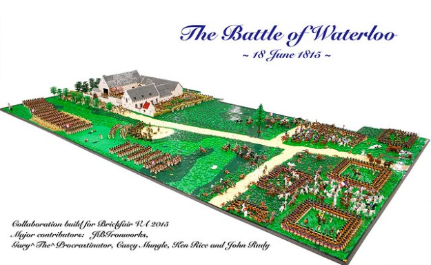 Battle of Waterloo Diorama