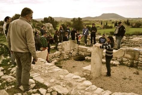Visita al Museo Arqueológico de Son Fornés