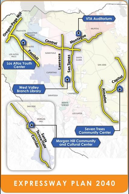 Santa Clara County Expressways plan