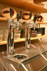 Six taps in a coffee house is cool with us