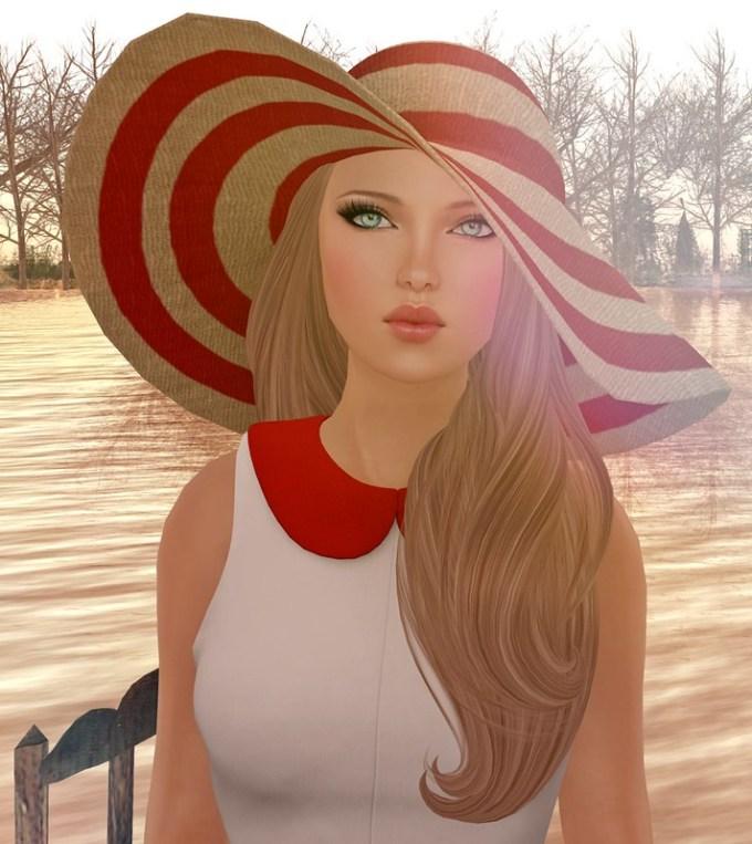 Red Nail Polish Lana Del Rey: JuicyBomb Second Life Fashion Blog