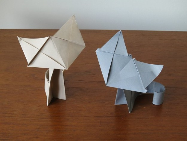 origami cat instructions hard