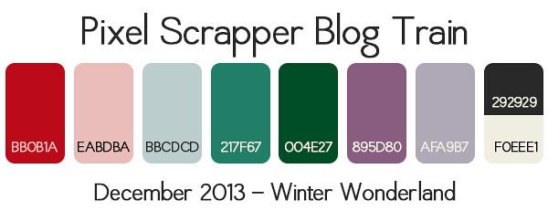 Color Palette Winter Wonderland