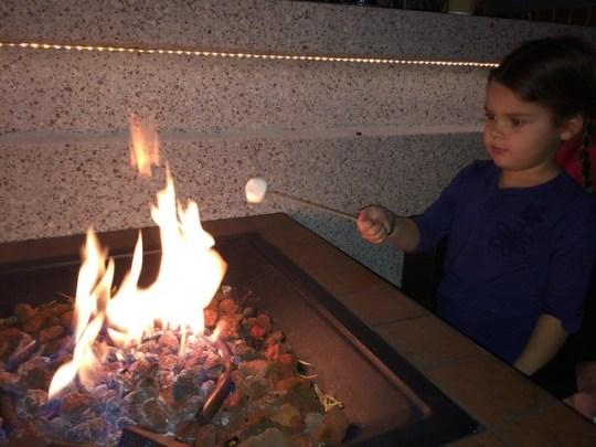 roastin' marshmallows