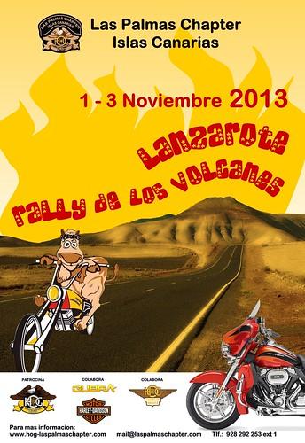 Rally de los volcanes - Lanzarote