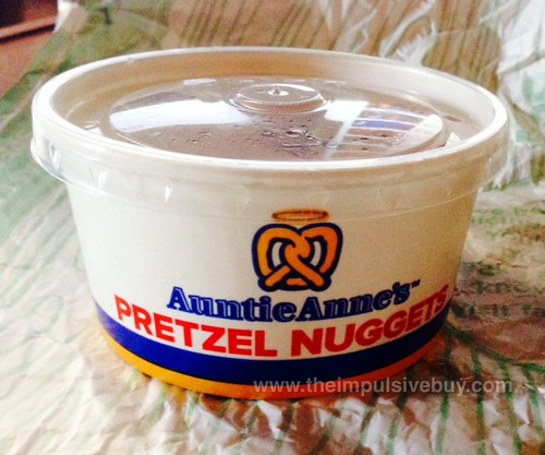Arby's Auntie Anne's Cheddar Pretzel Nuggets 1