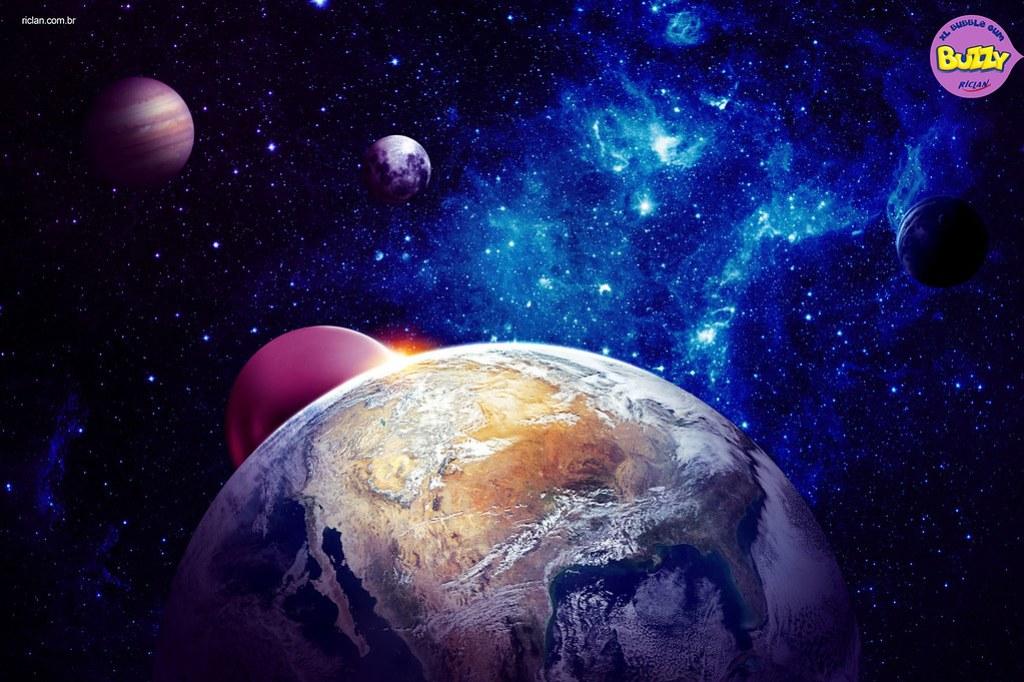 Buzzy XL Bubble Gum - Planet