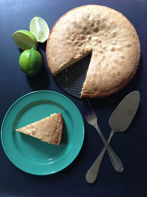 Olive Oil and Lime Cake