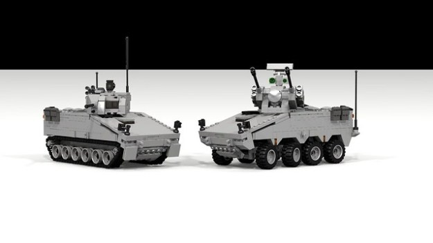 MWC-2 (IFV) and MTC-2 (Anti-Air)