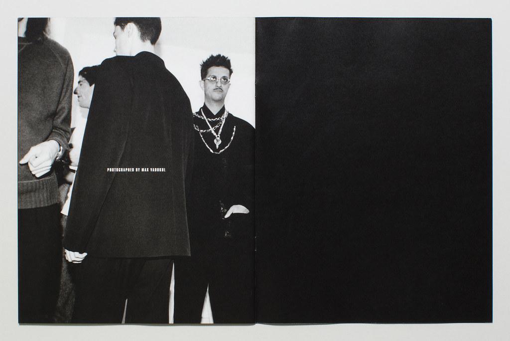 Yohji Yamamoto Pour Homme Lookbook F:W 2000 3