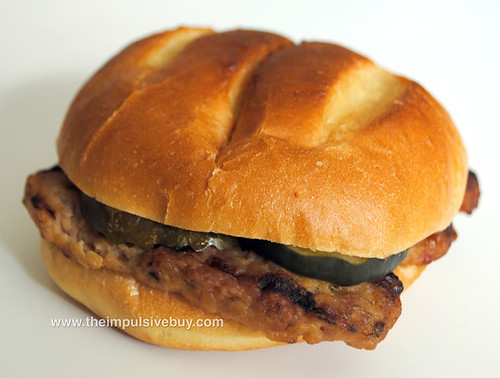 Burger King Rib Sandwich