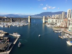 View From The Granville Street Bridge