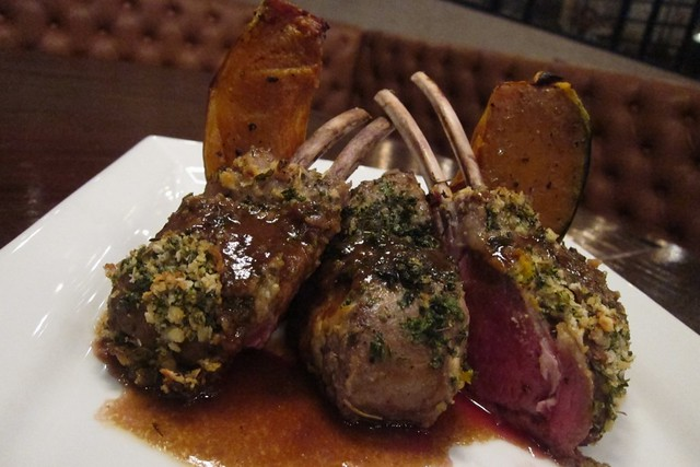 Australian Rack of lamb at URBN