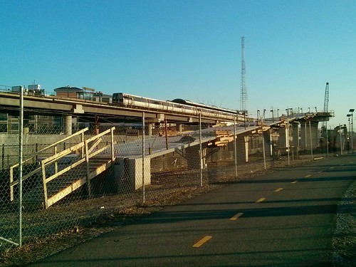 RI Ave. Metro Pedestrian bridge