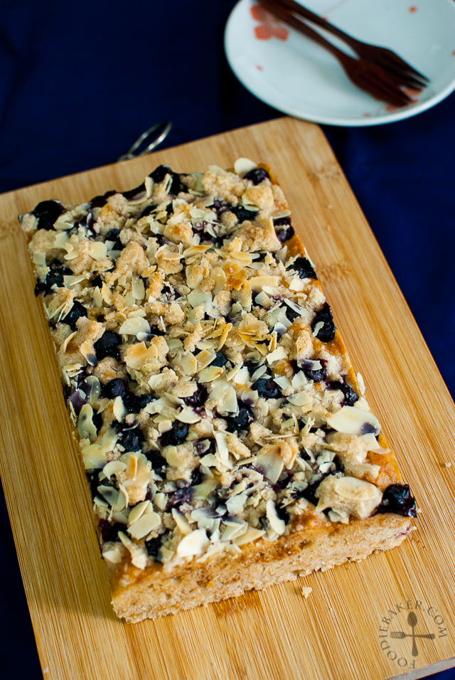 Blueberry-Almond Coffee Cake