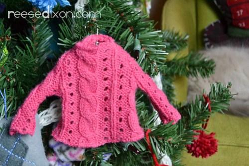 Miniature Sweater Ornament