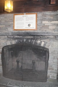 CCC Added Fireplace, Not Part of Original Gristmill (Bang ...