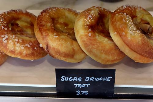 Sugar brioche tart