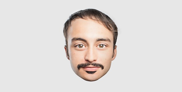 Emoji Moustache 1