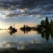 Reader K.Q. | Waiting for my float plane | Ganges Harbour, Saltspring island | 7am