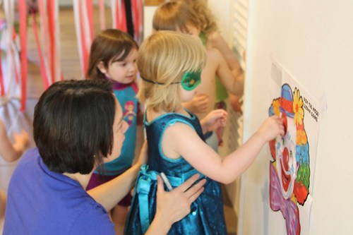 Pin the Nose on the Clown, Circus Party Game