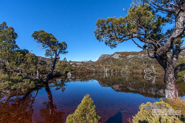 The stunning colours of the 'Wombat Pool'.