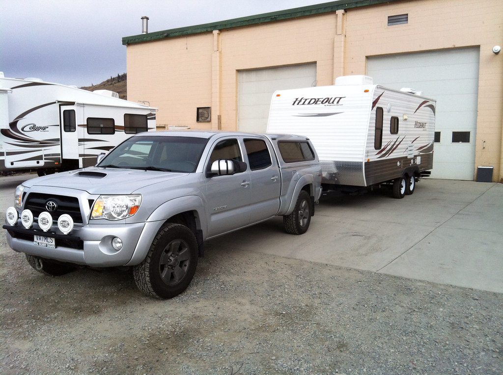 Tacoma Travel Trailer Towng Read If You Consider Buying An RV