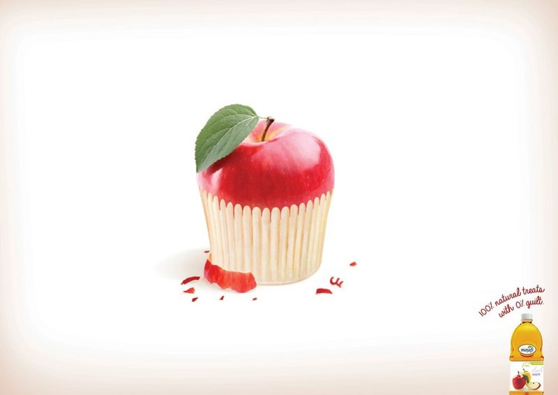 Masafi - Apple cupcake