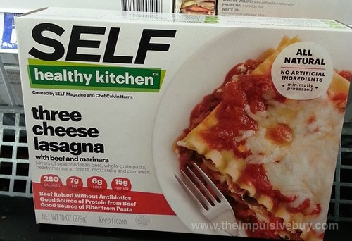 SELF Healthy Kitchen Three Cheese Lasagna