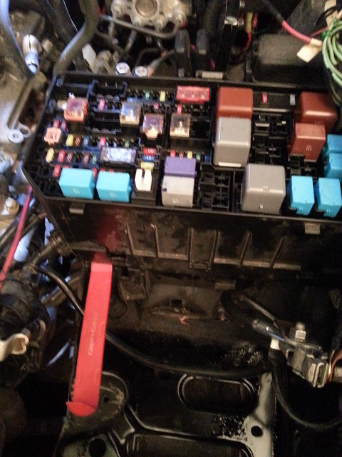 Exchanging the cable between battery and fuse box - Page 3 - Toyota