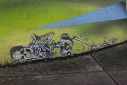 Mural detail at Dunsmuir & Beatty