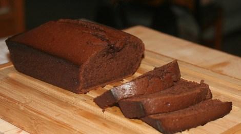 mocha pound cake
