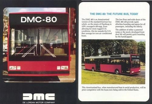 Delorean Motor city bus