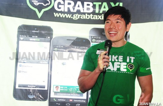 Anthony Tan, founder of GrabTaxi with a goal to revolutionize the taxi industry in ASEAN countries.