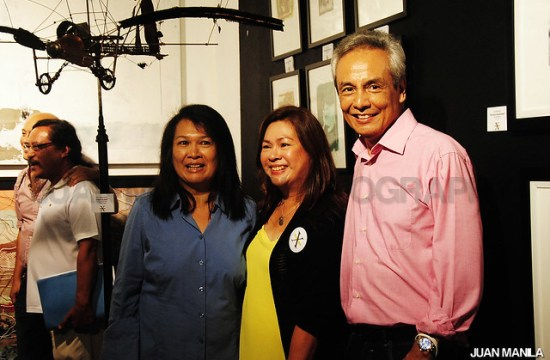 Photographer and one of the founder of the iconic APO Hiking Society, Jim Paredes shared his framed arts for RenaiXance art exhibit.
