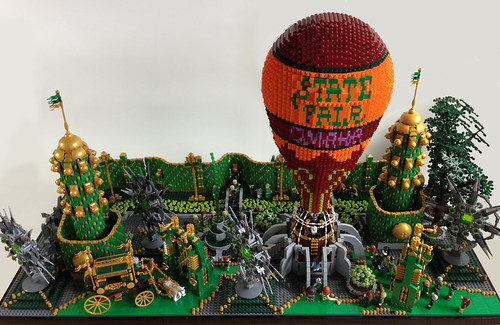 Emerald City: Balloon Departure