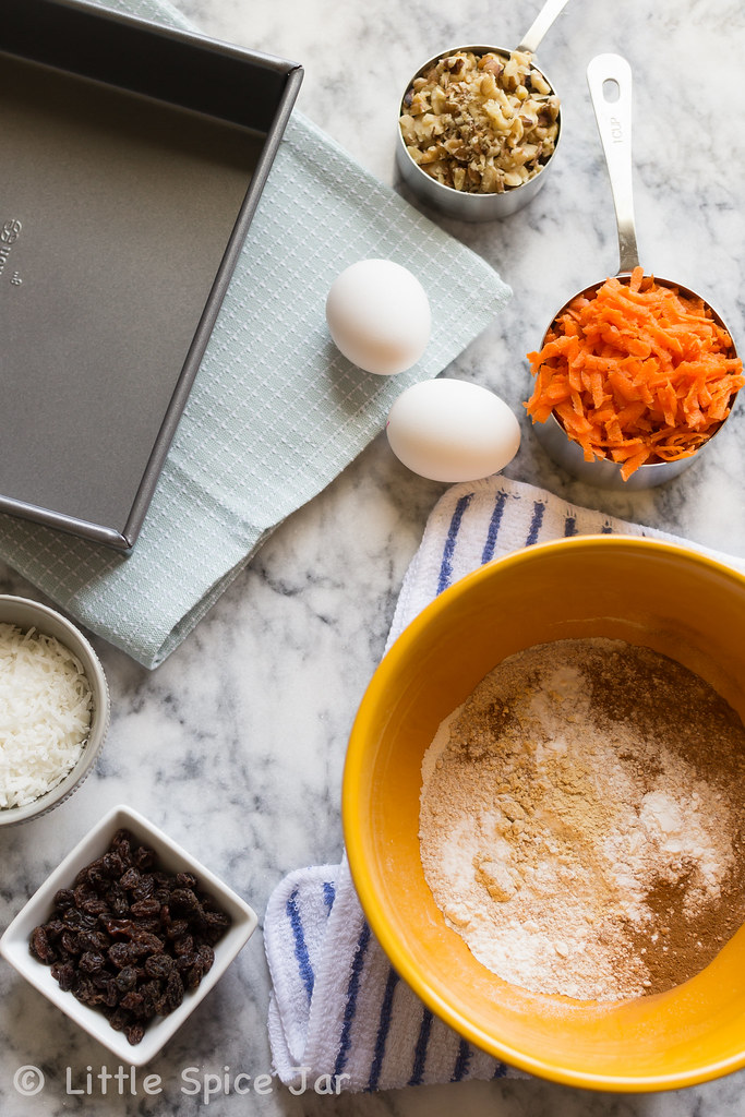 Layer Carrot Spice Cake With Cream Cheese Frosting