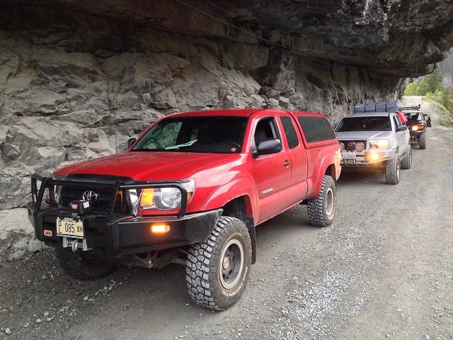 Toyota 4x4s, Camp Bird Road, Ouray, Colorado, 2013